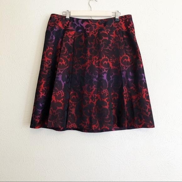 Lane Bryant Dresses & Skirts - Lane Bryant Metallic Brocade Skirt